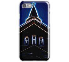 Dark Glowing Church Steeple iPhone Case/Skin