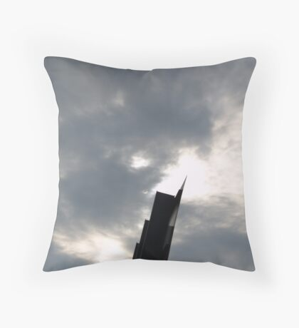 The TOWER of Contrast Throw Pillow