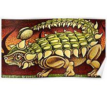 The Ankylosaurus Waltz   Poster