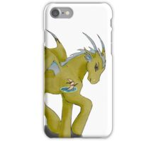 Nighthawk the Leader of Dragores iPhone Case/Skin
