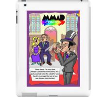Hand in marriage iPad Case/Skin