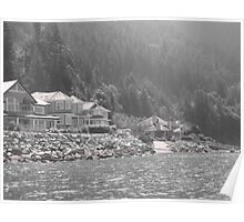 Horseshoe Bay, A Vancouver Summer's day Poster