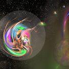 Alien Lifeform in Transit by Dean Warwick