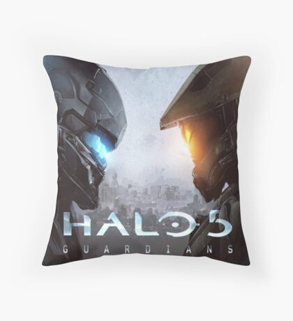 Halo 5 Guardians Throw Pillow