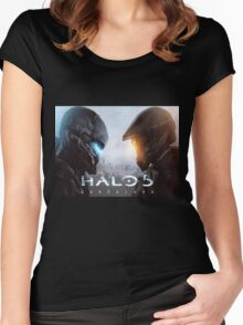 Halo 5 Guardians Women's Fitted Scoop T-Shirt