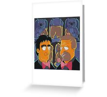 Roy & HG Nelson (After M. Groening - Sold) Greeting Card