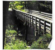 Country Roads Bridge Poster