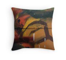 Colour burst Throw Pillow