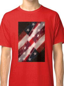 Stars And Stripes Classic T-Shirt