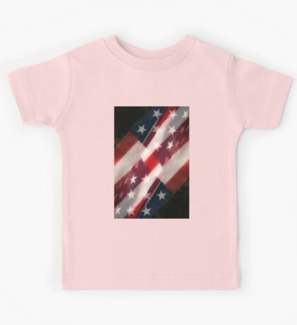 Stars And Stripes Kids Tee