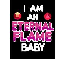Eternal Flame Design Photographic Print