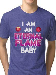 Eternal Flame Design Tri-blend T-Shirt