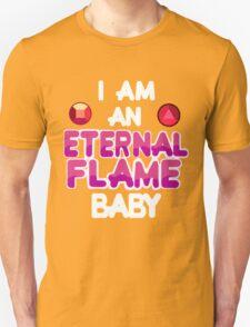 Eternal Flame Design Unisex T-Shirt