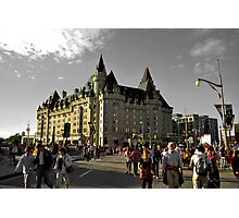 chateau laurier Photographic Print