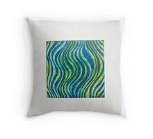 Ocean tones Throw Pillow