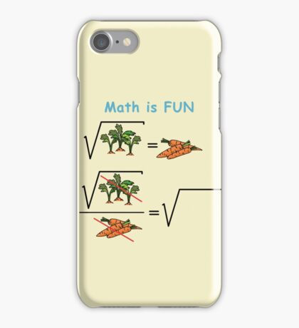 Mat is Fun iPhone Case/Skin