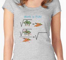 Mat is Fun Women's Fitted Scoop T-Shirt