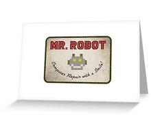 Mr. Robot Greeting Card