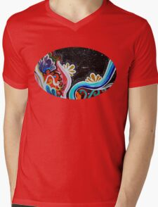 Outer Space Mens V-Neck T-Shirt