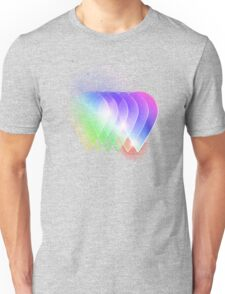 Colourful waterdrops Unisex T-Shirt