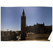 Cathedral of Sevilla Poster