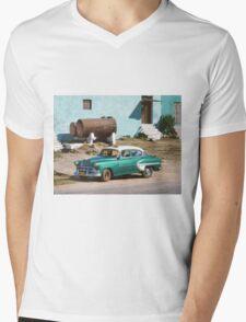 Taxi  Mens V-Neck T-Shirt