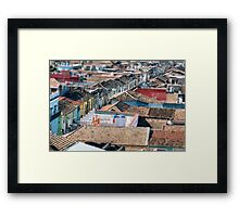 Cross town  Framed Print