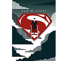 Man of Steel Photographic Print