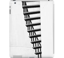 Staircase abstract in monochrome iPad Case/Skin