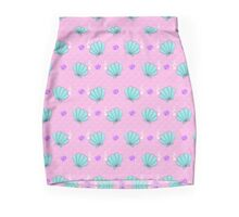 Pink Sea Squish Mini Skirt