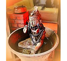 Buddha's Pose Photographic Print