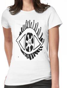 Black Eye Tshirt Womens Fitted T-Shirt