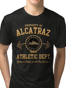 ALCATRAZ ATHLETIC DEPT. Tri-blend T-Shirt