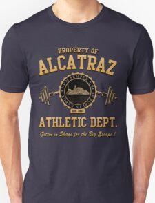 ALCATRAZ ATHLETIC DEPT. Unisex T-Shirt