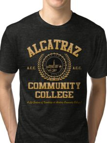 ALCATRAZ COMMUNITY COLLEGE Tri-blend T-Shirt