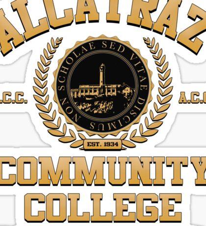 ALCATRAZ COMMUNITY COLLEGE Sticker