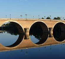 Bridge Bergerac France by Tommy Wright