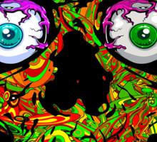 PSYCHEDELIC SKULL Sticker