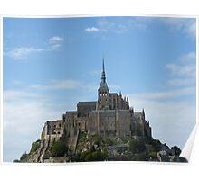 Mont St Michel France Poster