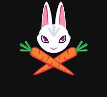 Jolly Roger Rabbit Design Womens Fitted T-Shirt