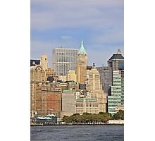 New York Financial District Photographic Print