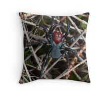 Mouse Spider Throw Pillow