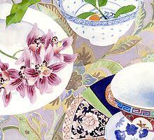 still life with ceramics by Gabby Malpas