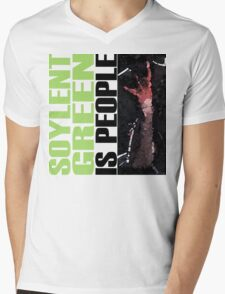 Soylent Green - light Tee  Mens V-Neck T-Shirt