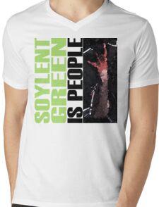 Soylent Green - light Tee  Mens V-Neck T-Shirt