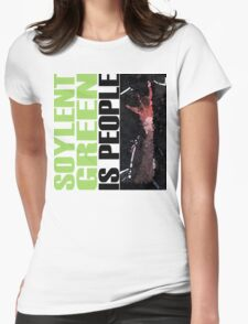 Soylent Green - light Tee  Womens Fitted T-Shirt