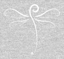 Swirly Dragonfly Tee (for dark Tee's) Kids Clothes