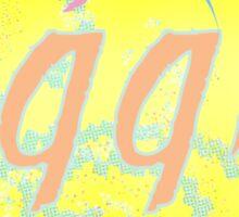 Vaporwave-1995 Sticker