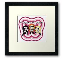 WWE Powerbuff Girls Framed Print