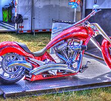 Chopper at U.S. Nationals (NHRA) in Indianapolis by David Owens